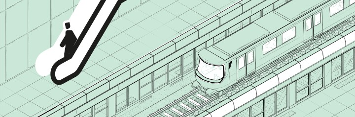 quai iso 5-01 escalator